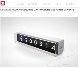 Social media et points de vente