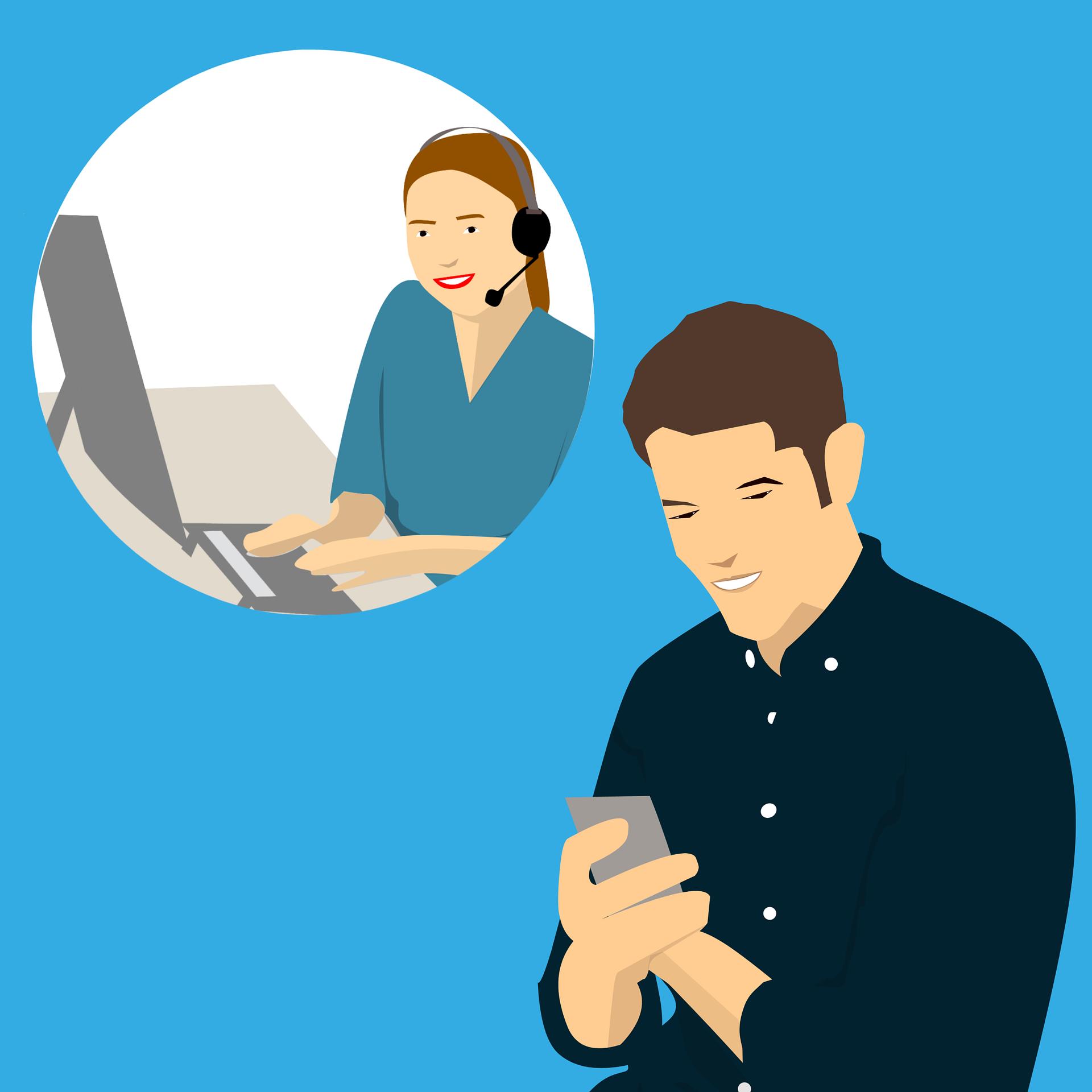 Chatbot : véritable outil pour désengorger le service client, et s'intègre dans le cadre du selfacre ou digital care.