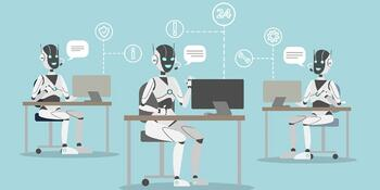 Les chatbots intelligent utilisent le machine learning