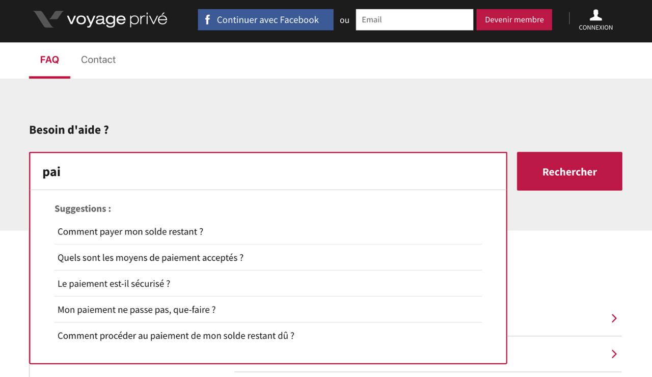 La FAQ dynamique permet d'améliorer le seo d'un site internet