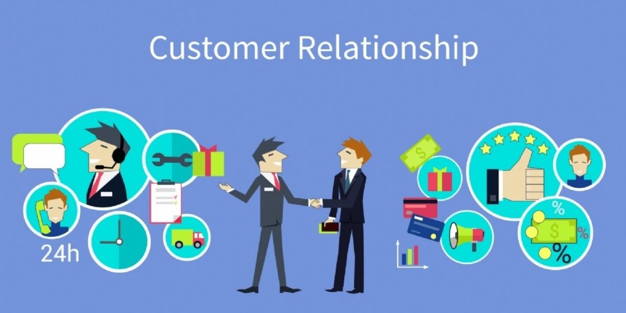 La relation client est un moyen de satisfaction client